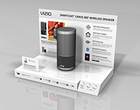 VIZIO Crave 360 Merchandising Display