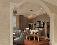 Neoclassic dining room