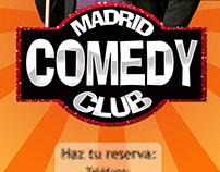 Carteles para Madrid Comedy Club