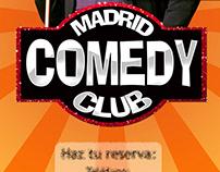 Carteles para Madrid Comedy Club