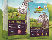 GranataPet // dog food campaign and packages (COPY)
