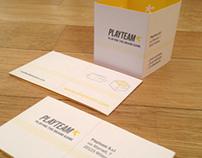 Playteam Brand Identity.