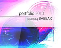 Portfolio 2013 CV, Contents