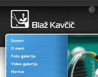 Blaž Kavčič - najboljši slovenski tenisač