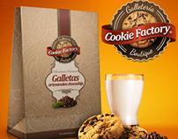 Cookie Factory Branding