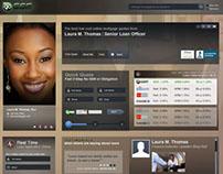 Profile Landing Page Design - Prototype