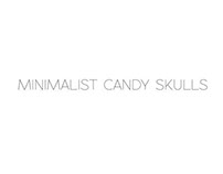 Minimalist Candy Skulls