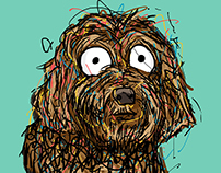 Cooper the Dog | Illustrations