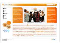 Creative Hive - Creative Eportfolio Community / Web