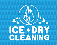 ICE DRY CLEANING : BRANDING