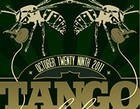 Tango Alpha Tango - Halloween Show Poster