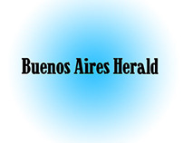 Buenos Aires Herald newspapper format