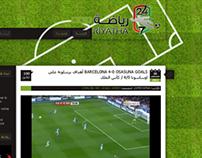 247riyatha.com | Arabic Blog Redesign