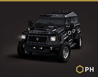 Conquest Vehicles' Knight XV