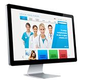 Medical Travel Europe - Website Design - 2012