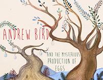 Andrew Bird Album Art and Poster Concept