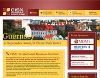 CISX International Business Summit | Web Design