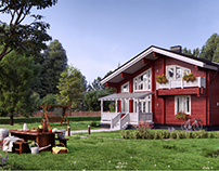 "Wooden houses for the company ""Askwood"""