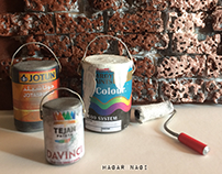 Painting Miniature Room Scene