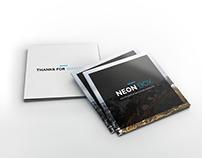 Neon Box – Square Corporate Multipurpose Brochure