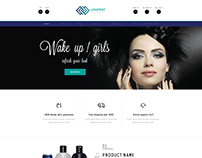 Ecommerce Website Design Layout