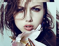 Botanic Fashion Editorial on Imute Magazine