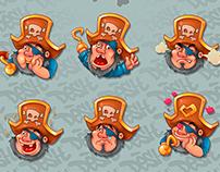 hilarious pirate O_o