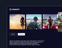 Ubisoft - UI Design Concept