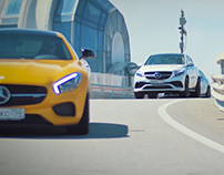 Mercedes-Benz. Tour of Sochi