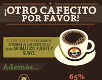 Infografía Café taza de Oro