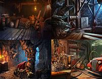 Hidden Object Games locations (2011-2012)
