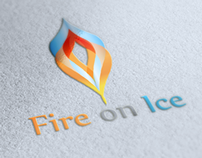 Fire on Ice Logo Design
