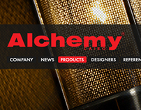 Alchemy's website option