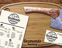 Dezmonds Butchery - Rebranding