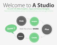 A Studio Website