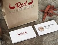 RED BURGER HOUSE Branding
