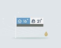 Al-Jazeera - Weather Style Frames