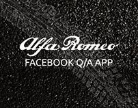 Alfa Romeo Q/A Facebook App
