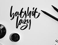 Brush Style, Ipadlettering