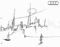 Audi A3 TDIe minisite.