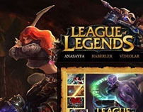 League of Legends - Lansman Sayfası (2012)