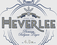Heverlee beer identity and packaging