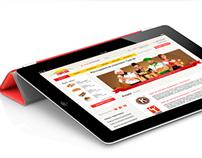 Web design «Тургай»