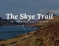 Highland trekking in Scotland
