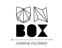 UNBOX - brand identity + stationery