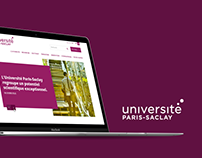 Université Paris-Saclay Website Design