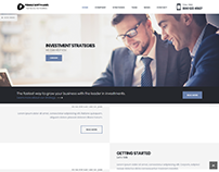 Finance Website - Pebble Softwares