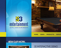 S3 Entertainment website