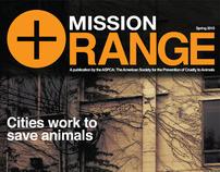 ASPCA Mission: Orange Magazine Design
