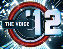 The Voice 2012: Motion design for on air and event